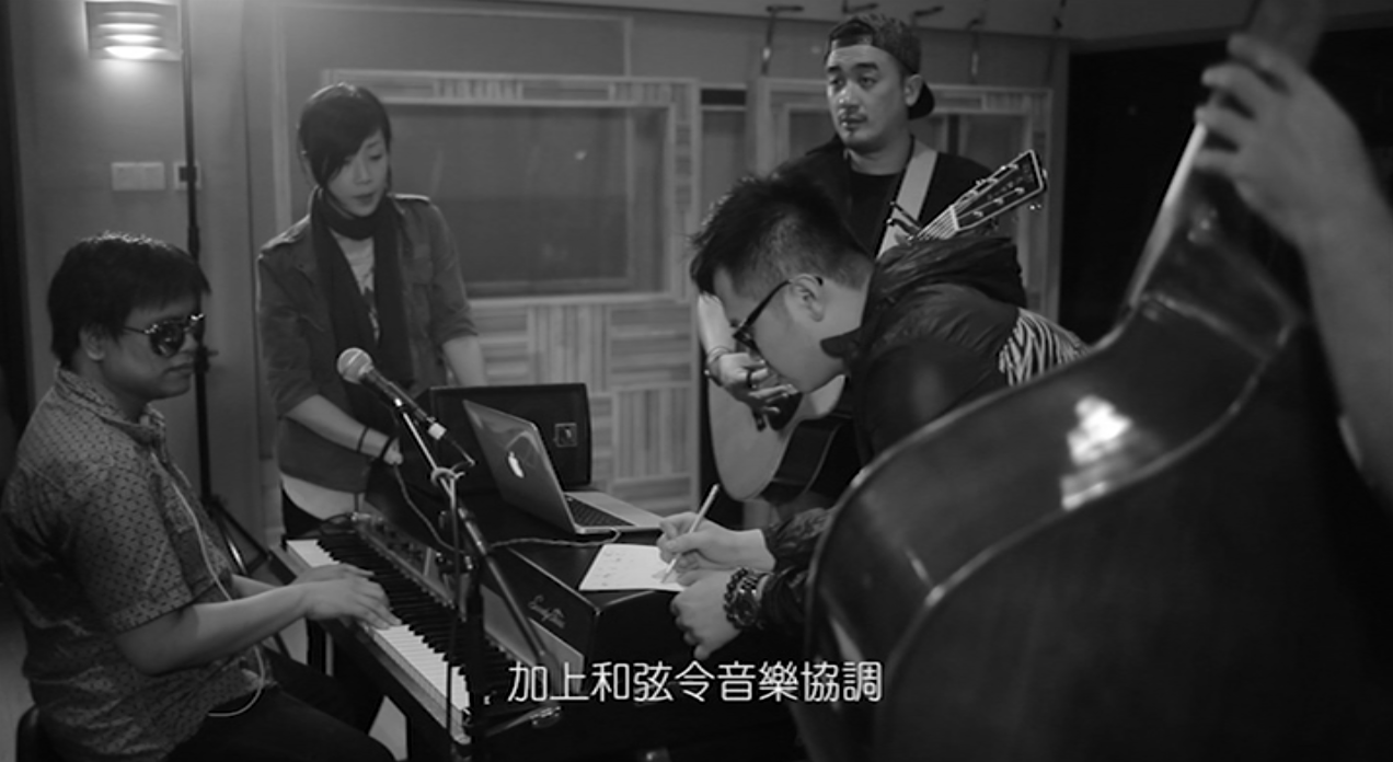 Sandy Lam 林憶蓮  with MoFo Music, Kelvin Avon & Jun Kung 恭碩良 on Re:Workz