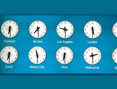 diferencia horaria: