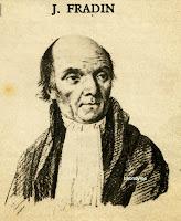 J. Fradin, Antwerpse rechter tijdens de Franse overheersing en aanhanger van Napoleon.