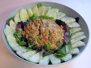 Chipotle Salmon Salad