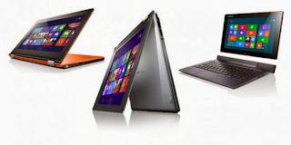 Pasar tablet Lenovo naik Hingga 420 persen