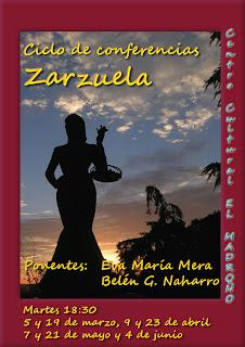 Ciclo conferencias sobre Zarzuelas