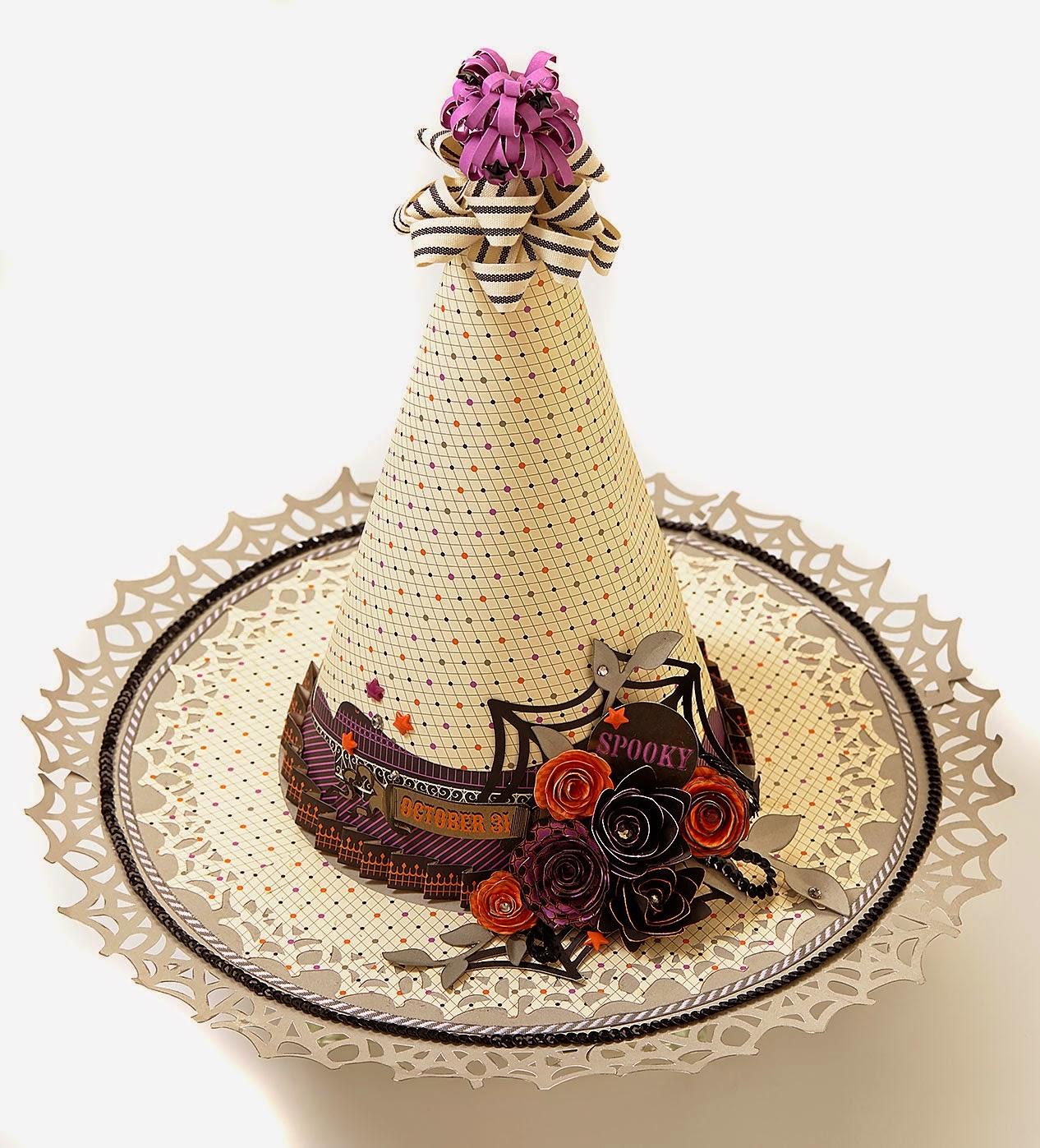 CTMH Halloween Hat