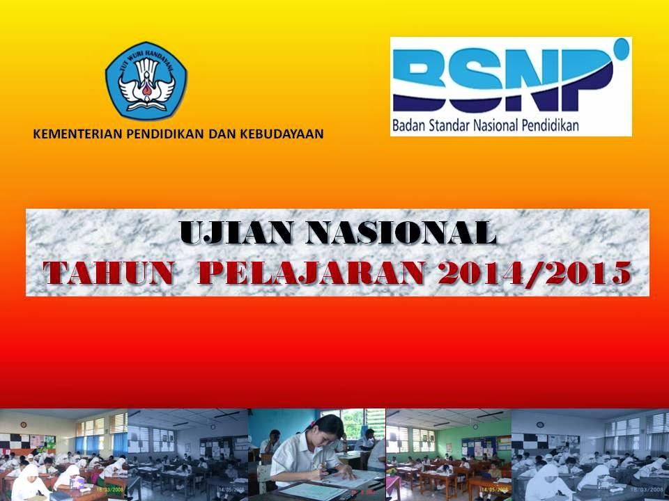 Jadwal Pelaksanaan Ujian Nasional (UN/Unas) Terbaru 2015 untuk SD, SMP dan SMA