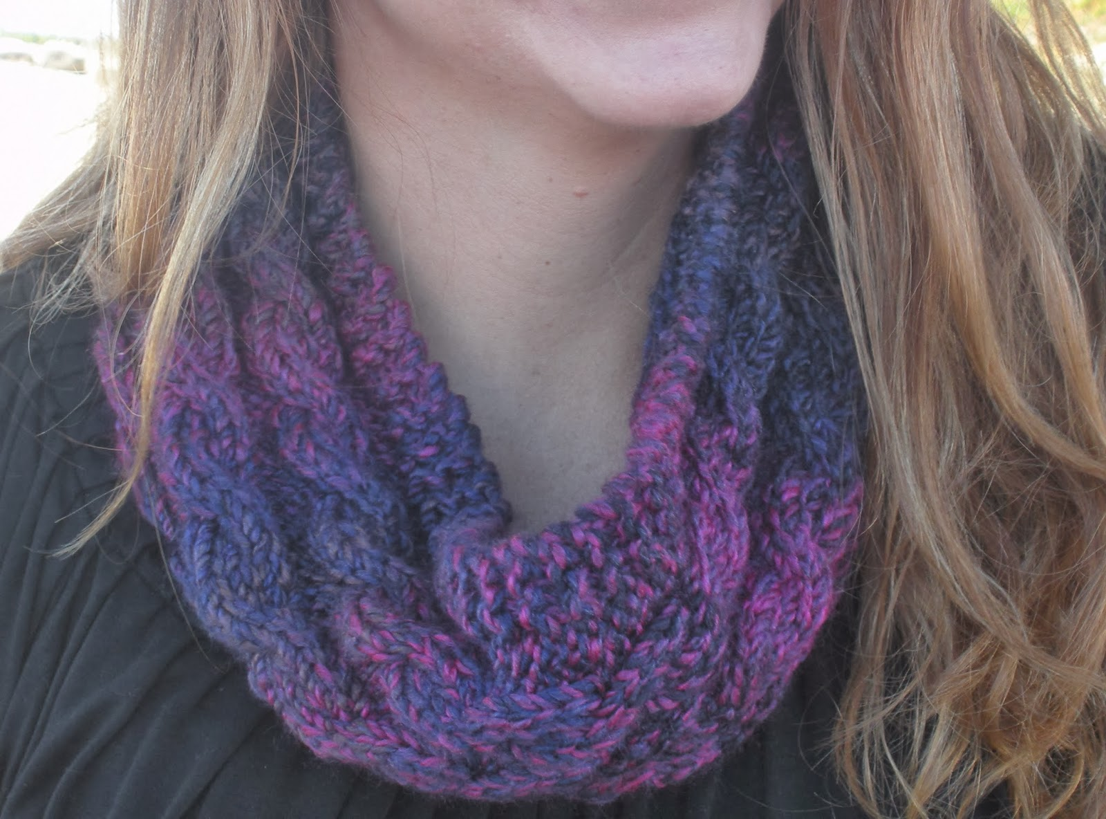 Yarn In, Yarn Out: Free Pattern: Able Cable Cowl