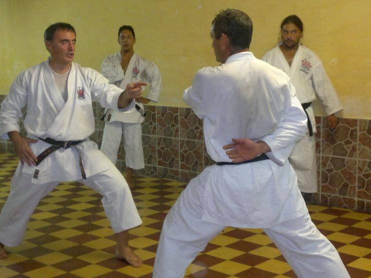 Entrenamiento DANES 2012
