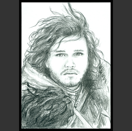 Fairy Tangles Jon Snow
