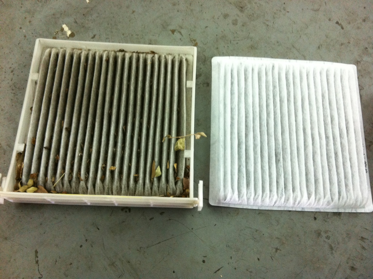 Toyota Solutions Cabin Air Filter Replacement 2006 Toyota