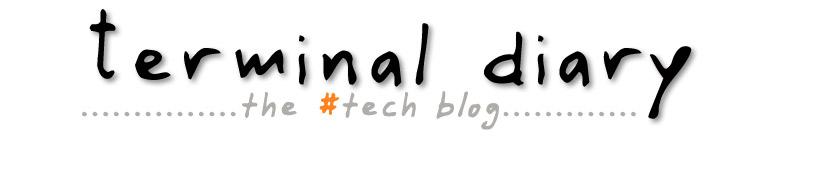 Terminal Diary | techblog