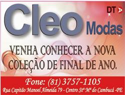 CLEO MODAS - NOVA COLEÇÃO