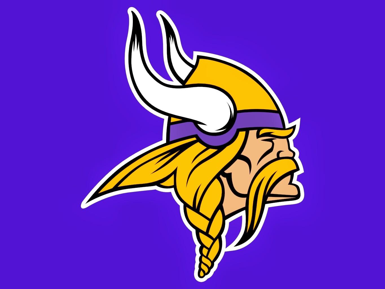 Pin Minnesota Vikings Horn Logo on Pinterest
