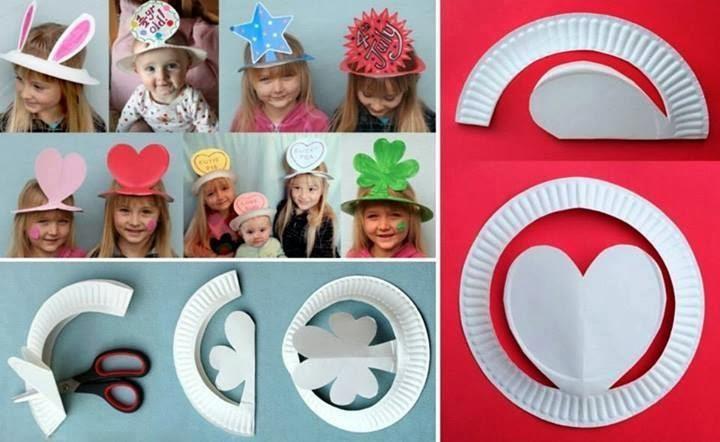 Как сделать шляпу из бумаги на день рождения