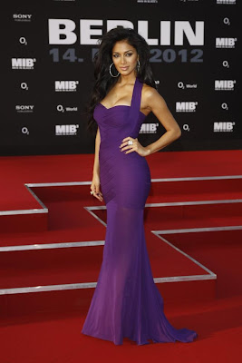 nicole scherzinger at men in black 3 germany premiere