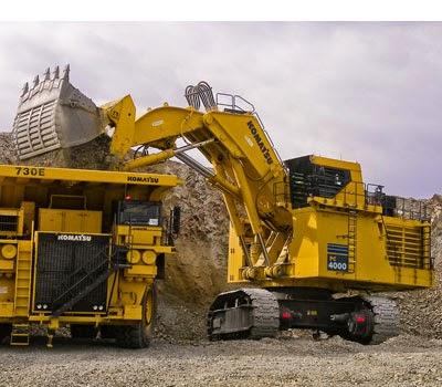 Komatsu Excavators PC4000