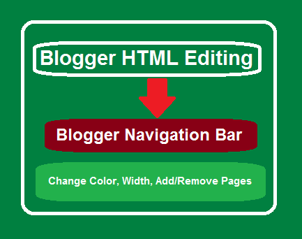 How to customize Navigation Bar of Third Party Blogger Template
