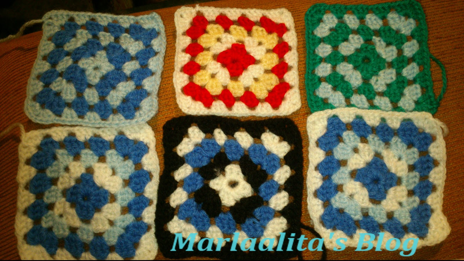 Granny square, ganchillo, crochet