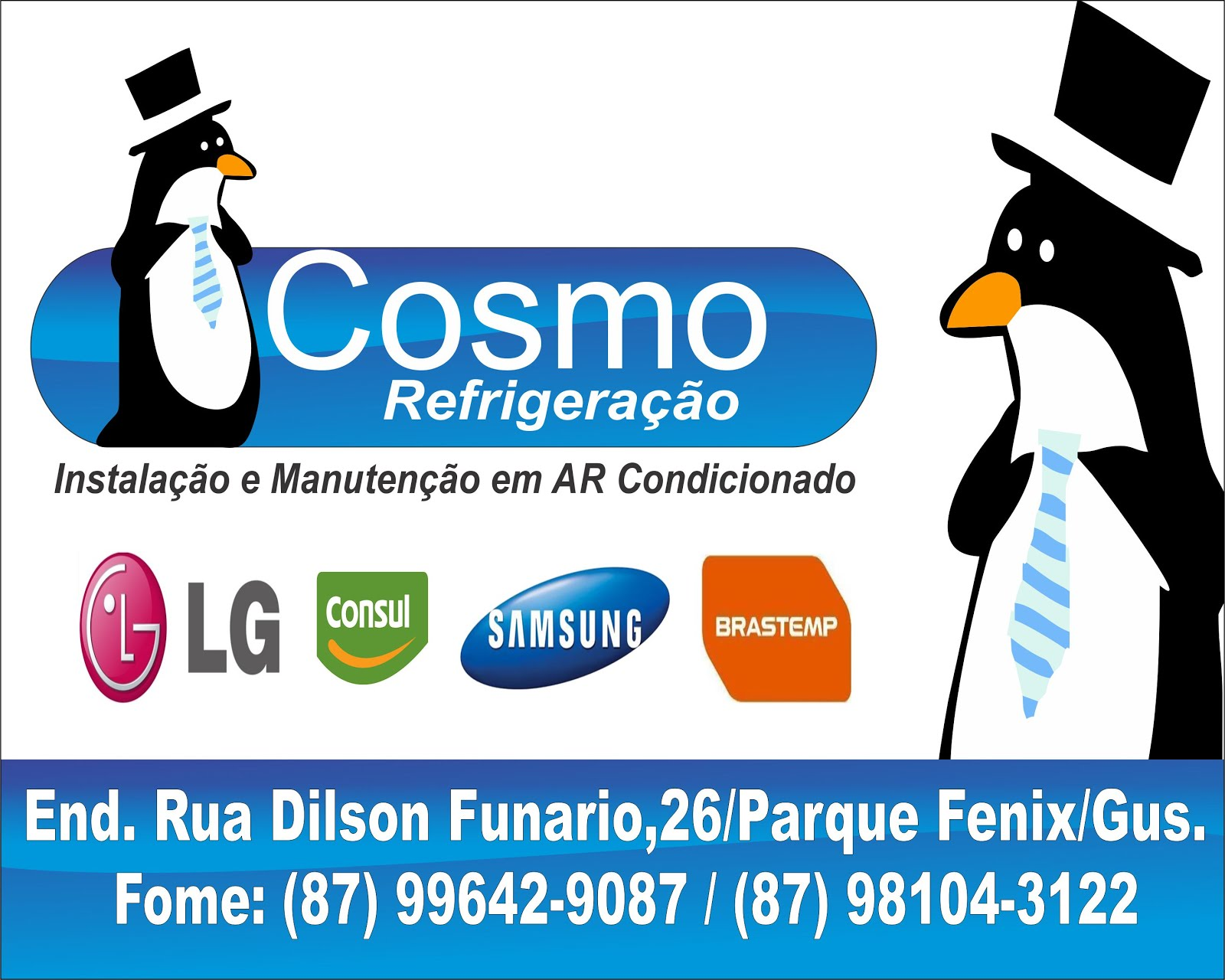 Cosmo Refrigeração.