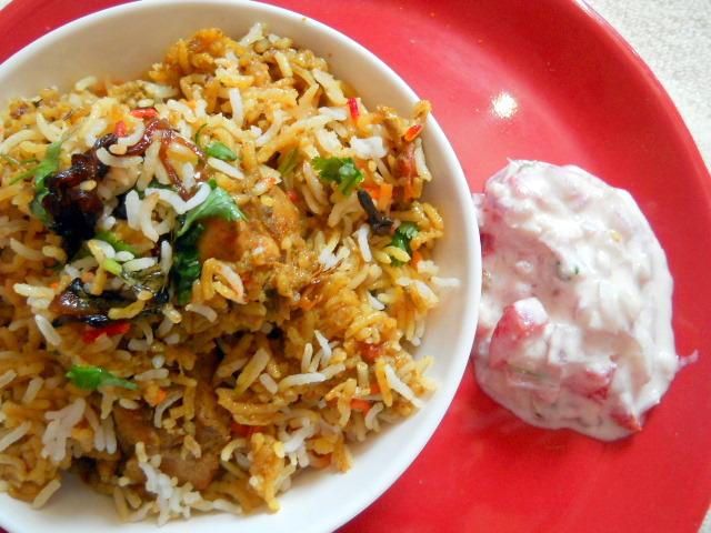 Apetite: Hyd... Hyderabadi Chicken Biryani