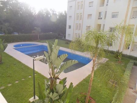 Location appartement meubl 100 m r sidence avec piscine for Residence a mohammedia avec piscine