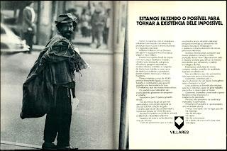 propaganda Vilares - 1971, reclame década de 70;  propaganda década de 70; Brazil in the 70s; Reclame anos 70; História dos anos 70; Oswaldo Hernandez;