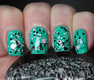 china glaze sunsational keepin it teal funky fingers the notebook review swatches