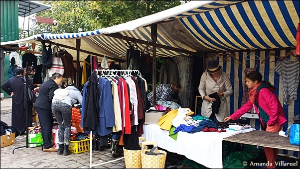 Sunday Market in Mauer Park, Berlin