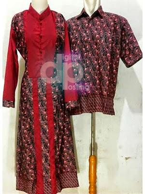 Model Gamis Batik 2014 Holidays Oo