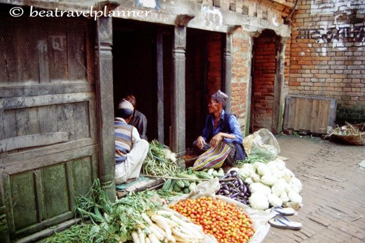 per le strade di Kathamndu