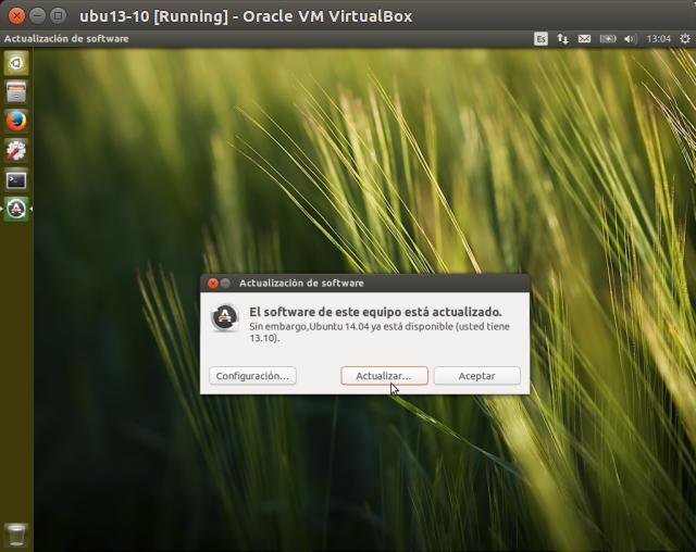 DriveMeca actualizando Ubuntu 13.10 a 14.04 paso a paso