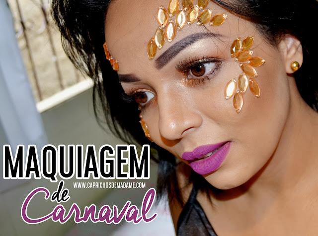 Maquiagem fácil para o carnaval