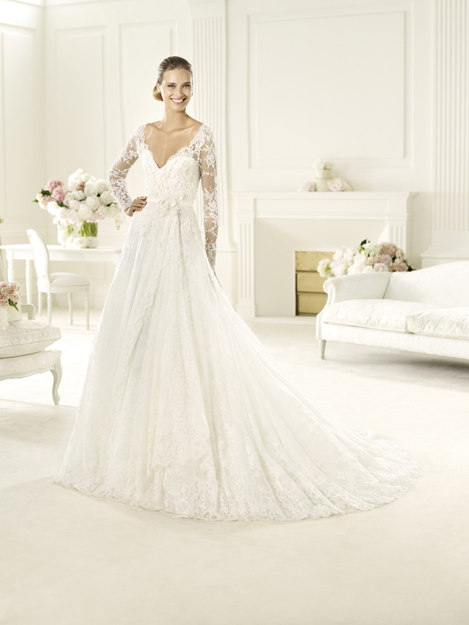 Elie by elie saab 2013 bridal collection my dress of the for Elie saab wedding dress 2013