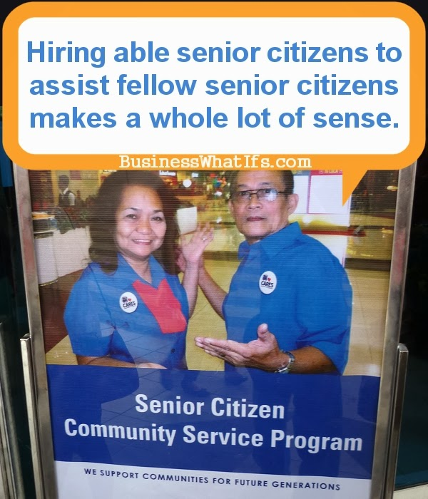 Hire Senior Citizens Who Are Still Physically And Mentally Active