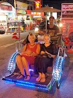 Trishaw - Batu Ferringhi night market, Penang