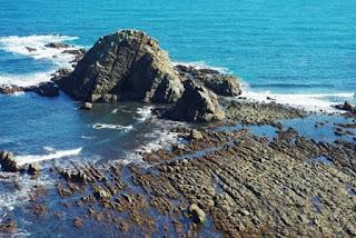 Cabo Busto, acantilados