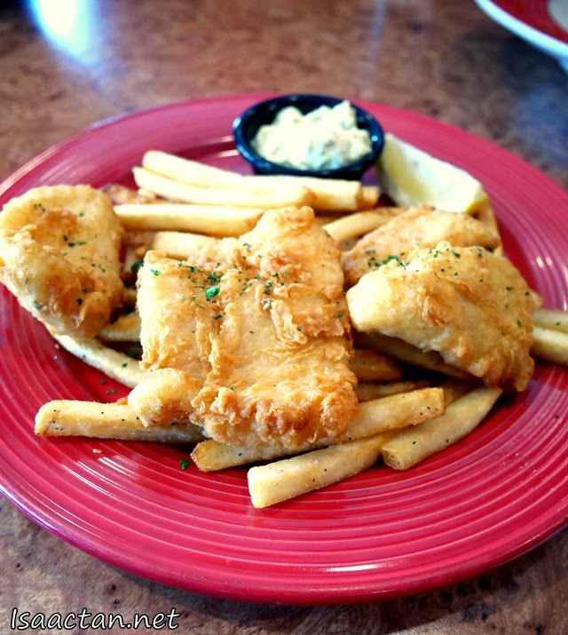 #3 Fish and Chips - RM29.90