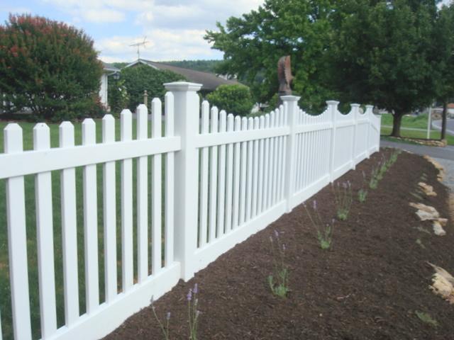 Fleur Cottage New Picket Fence At Fleur Cottage