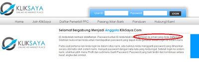 cara memasang iklan di kliksaya.com