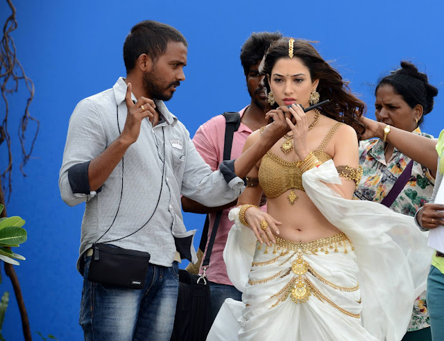 Baahubali New HD Working Stills | Rahamouli | Prabhas | Rana Daggubati