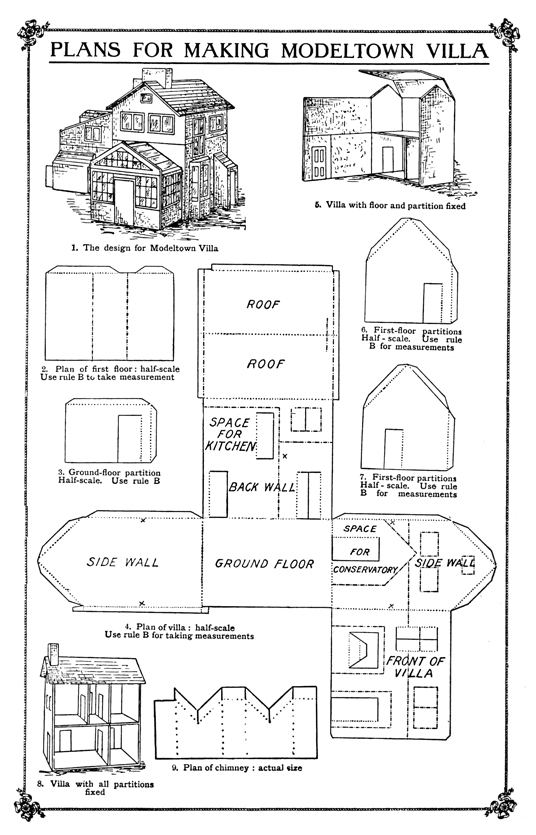 Plush possum studio family fun project a modeltown for Fun house plans
