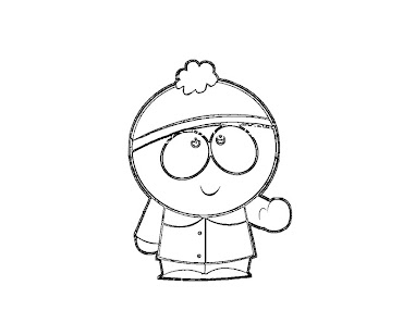 #5 Stan Marsh Coloring Page