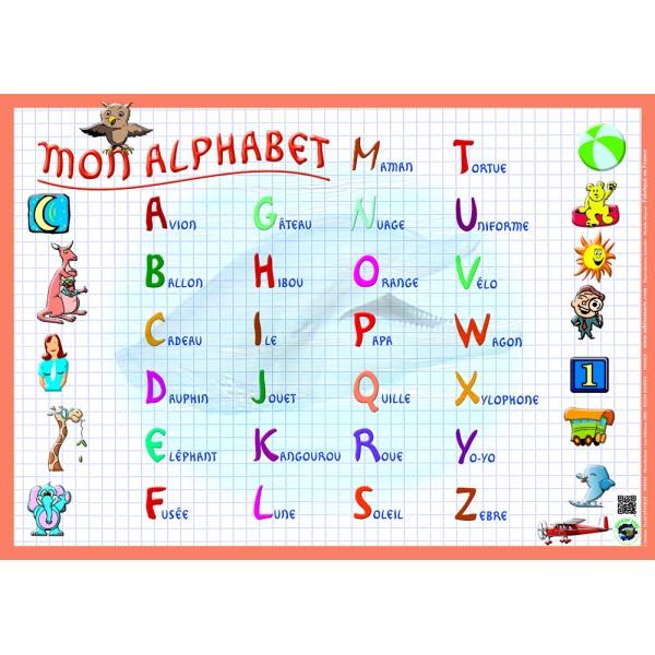 Le fran ais ba os l 39 alphabet - L alphabet en francais a imprimer ...