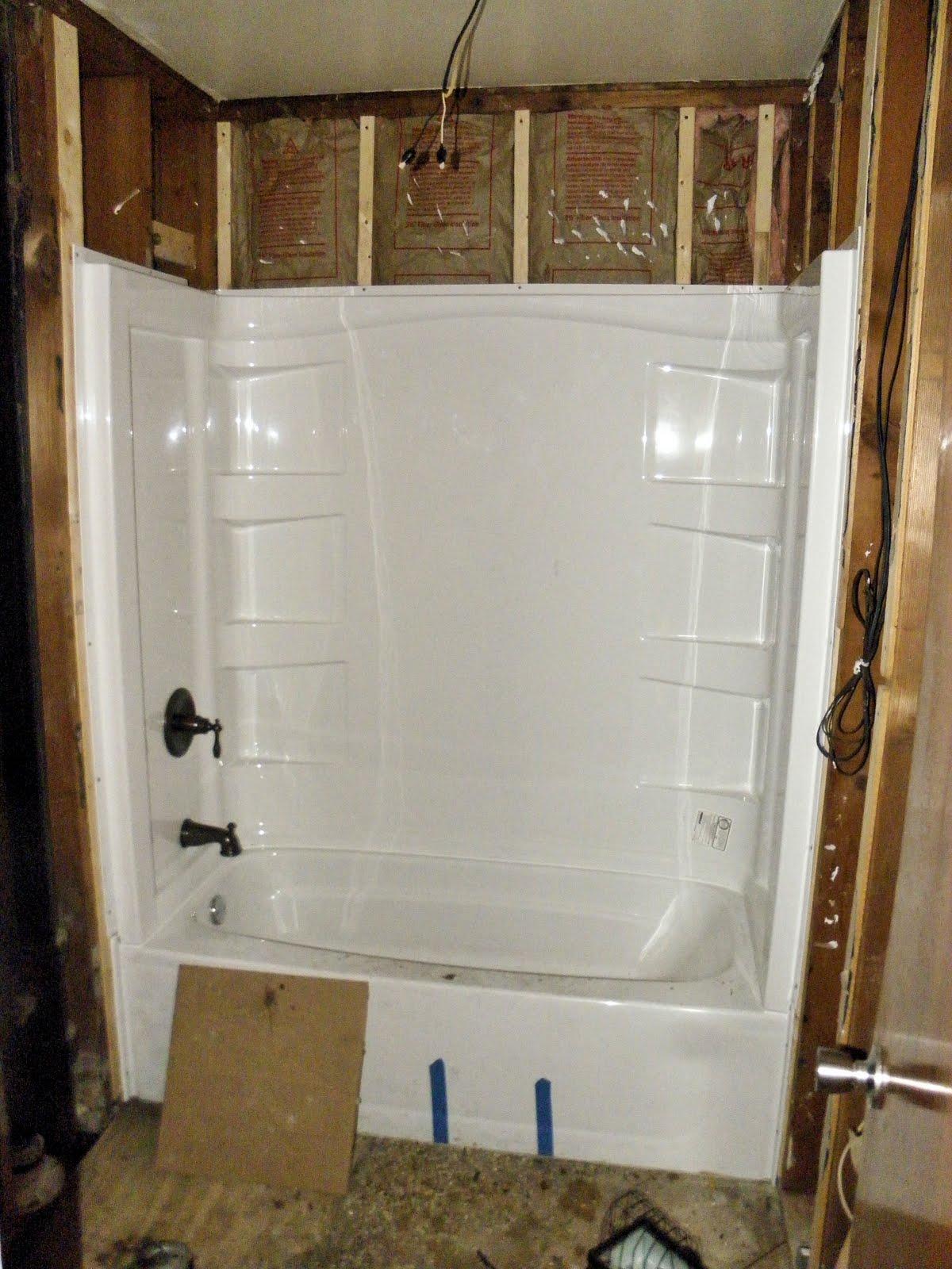 Shabby love bathroom redo part 2 for Redoing bathroom walls