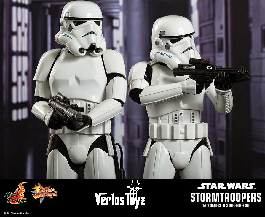 Pre Order Movie Masterpiece Series MMS268 - Star Wars Episode IV: A New Hope - Stormtroopers Set