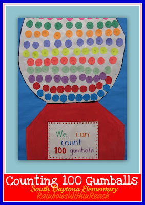 photo of: 100 Day celebration in kindergarten, 100 Day party, 100 day art projects