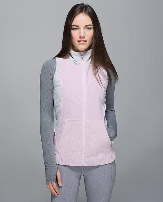 lululemon lets get visible vest