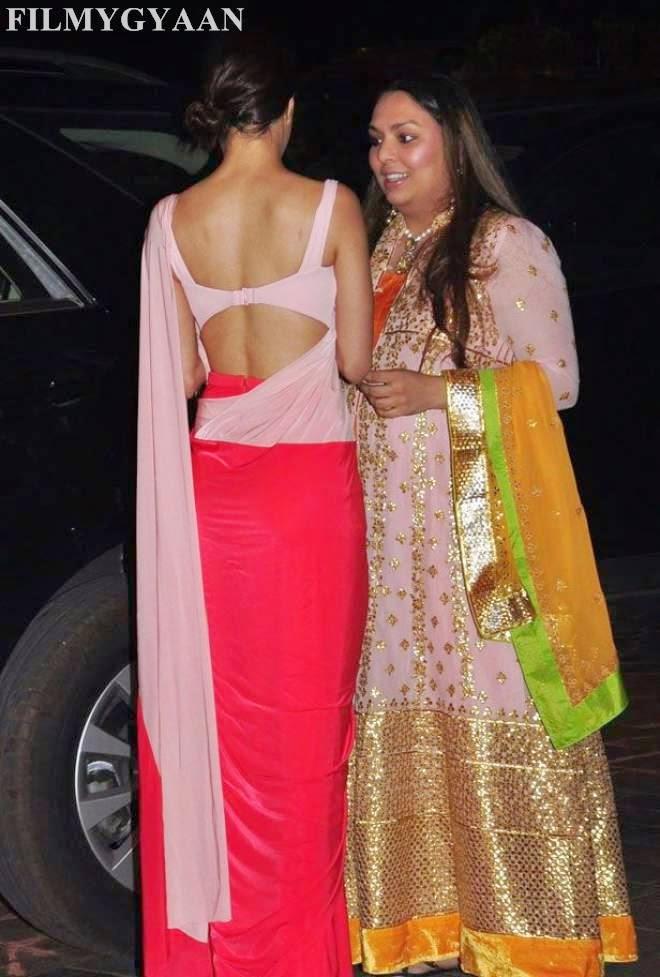Shraddha Kapoor At Arpita Khan Wedding Reception Photos