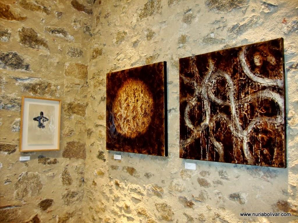 Imágenes exposición en CAN LAPORTA, La Jonquera (Girona)