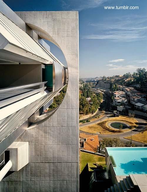 Casa Volada de Agustín Hernández en Ciudad de México
