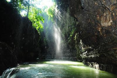 Objek Wisata Green Canyon Pangandaran Jawa Barat