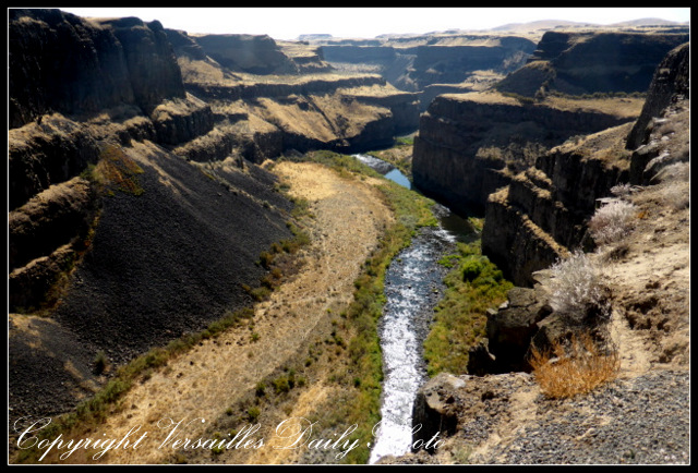 Palouse river canyon Washington